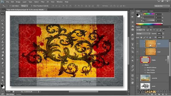 Layering tips and tricks: Photoshop CC 2013 One-on-One: Fundamentals