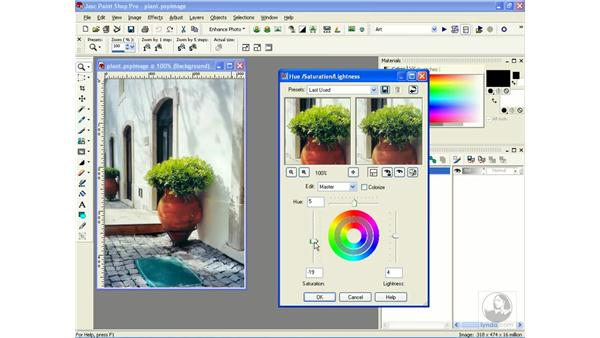 creating black and white images: Learning Jasc Paint Shop Power Suite Photo Edition