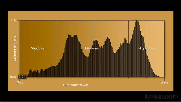 Introducing the histogram: Photoshop CC 2013 One-on-One: Fundamentals