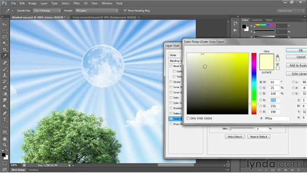 Integrating image elements: Photoshop CC 2013 One-on-One: Fundamentals