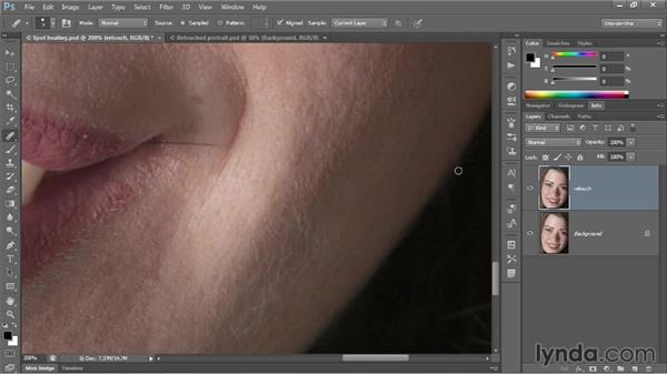 "The more capable ""standard"" Healing Brush: Photoshop CC 2013 One-on-One: Fundamentals"