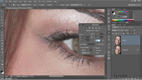 Meet the Clone Source panel: Photoshop CC 2013 One-on-One: Fundamentals