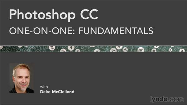 Until next time: Photoshop CC 2013 One-on-One: Fundamentals