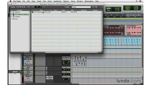 Navigating the new workspace: Pro Tools 11 New Features
