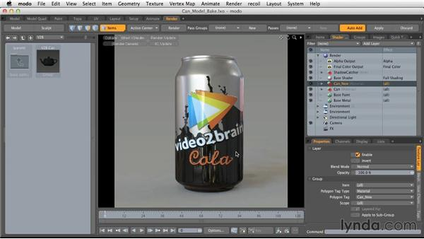 Presets: Light and Texture for Product Visualization in MODO