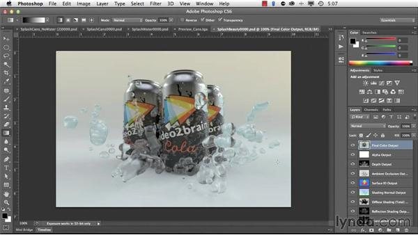 Saving your finished renders: Light and Texture for Product Visualization in MODO