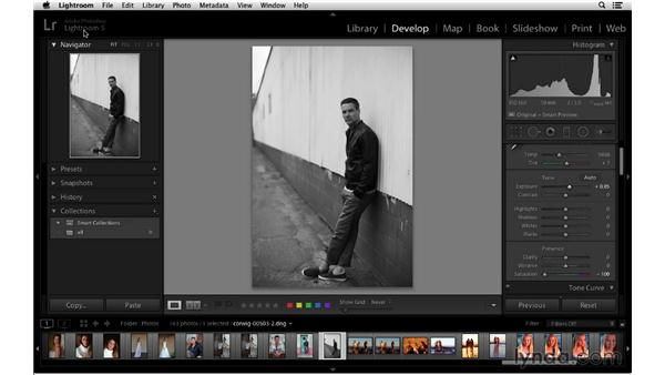 Catalogs are the backbone of Lightroom: Lightroom 5 Essentials: 01 Importing with the Library Module