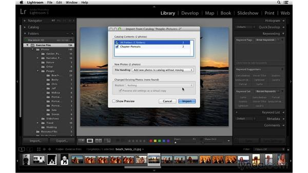 Importing and updating legacy catalogs: Lightroom 5 Essentials: 01 Importing with the Library Module