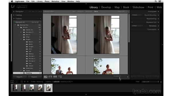 Working in the Grid and Loupe view: Lightroom 5 Essentials: 01 Importing with the Library Module