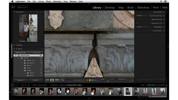 Navigating and zooming: Lightroom 5 Essentials: 01 Importing with the Library Module