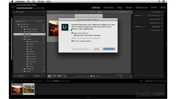 Deleting and removing images from folders: Lightroom 5 Essentials: 01 Importing with the Library Module