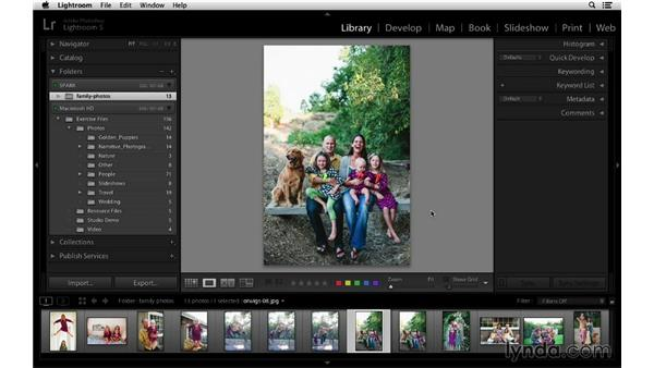 Working with multiple hard drives: Lightroom 5 Essentials: 01 Importing with the Library Module