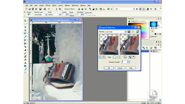 simulating depth of field: Learning Jasc Paint Shop Power Suite Photo Edition