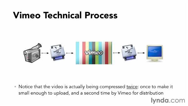 Understanding the Vimeo upload process: Vimeo Essential Training