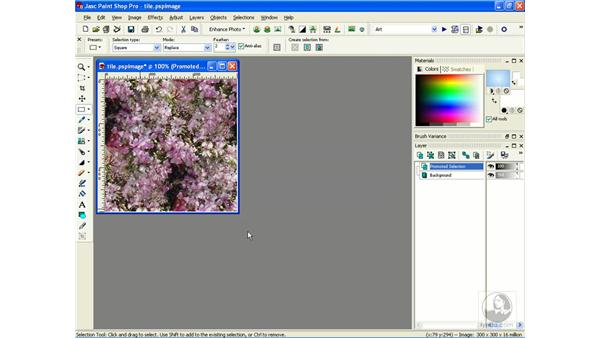 creating seamless patterns: Learning Jasc Paint Shop Power Suite Photo Edition