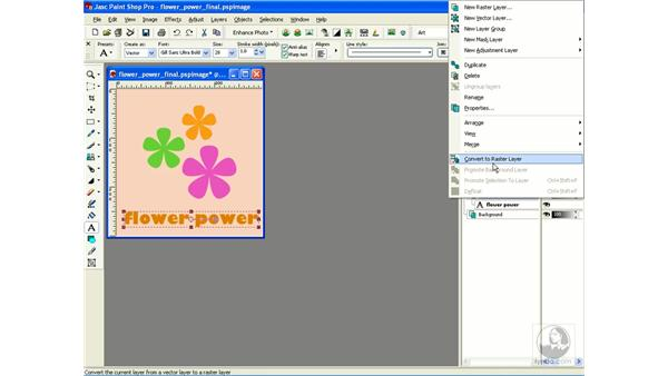 rasterizing: Learning Jasc Paint Shop Power Suite Photo Edition