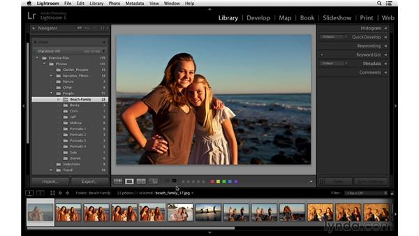 Working with flags, stars, and labels: Lightroom 5 Essentials: 02 Managing Images with the Library Module