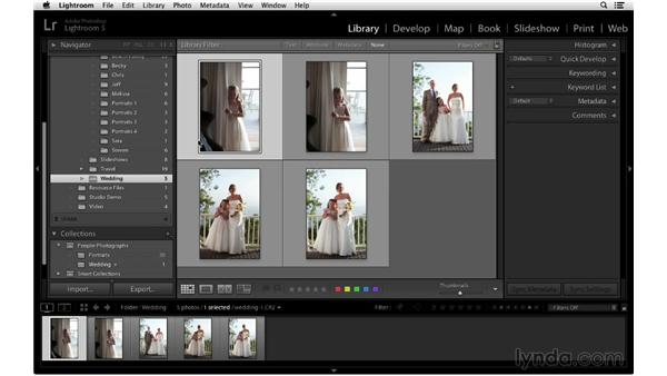 Creating targeted collections: Lightroom 5 Essentials: 02 Managing Images with the Library Module