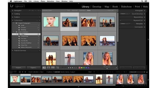 Using Smart Collections: Lightroom 5 Essentials: 02 Managing Images with the Library Module