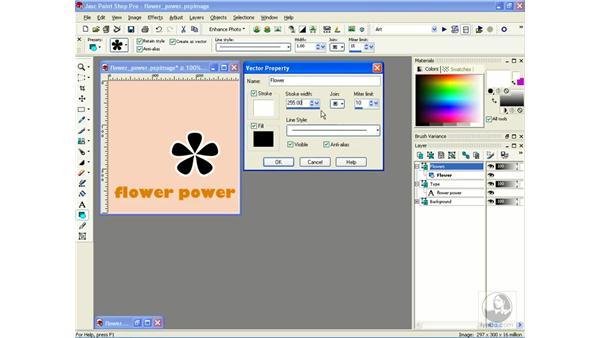 preset shapes: Learning Jasc Paint Shop Power Suite Photo Edition