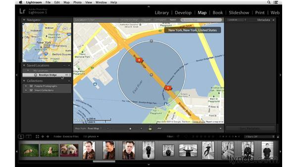 Creating saved locations: Lightroom 5 Essentials: 02 Managing Images with the Library Module