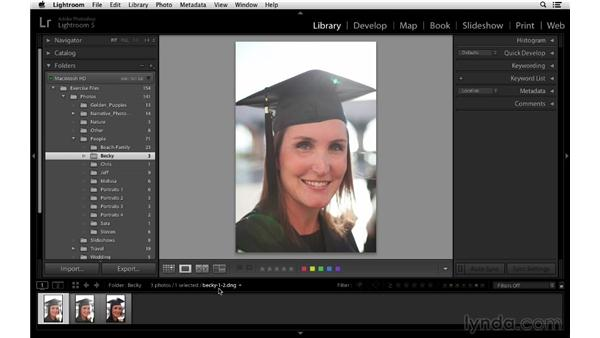 Saving size with Lossy DNG: Lightroom 5 Essentials: 02 Managing Images with the Library Module