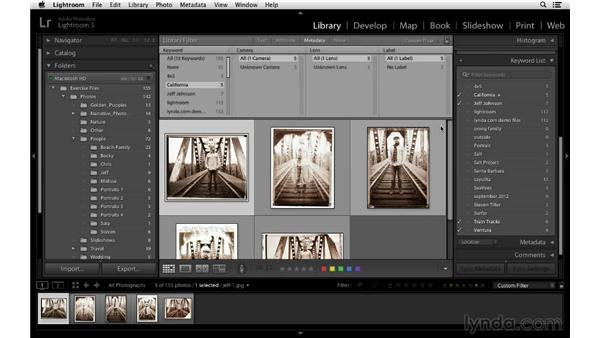 Keywording with the Painter tool: Lightroom 5 Essentials: 02 Managing Images with the Library Module