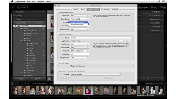 External editing preferences: Lightroom 5 Essentials: 02 Managing Images with the Library Module