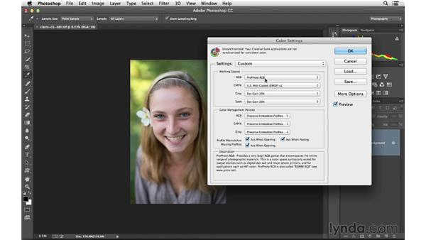 Editing raw photos in Photoshop: Lightroom 5 Essentials: 02 Managing Images with the Library Module