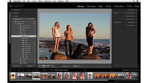 Emailing photographs from Lightroom: Lightroom 5 Essentials: 02 Managing Images with the Library Module