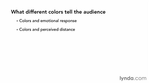 What different colors tell the audience: The Art of Color Correction: Color Grading for Locations and Times of Day