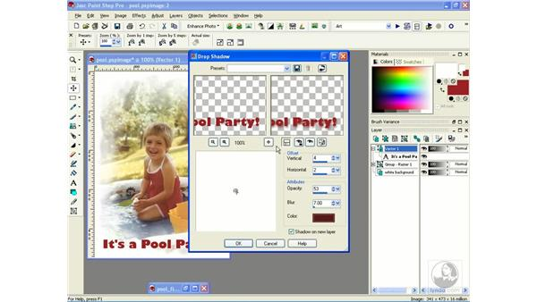 creating greeting cards: Learning Jasc Paint Shop Power Suite Photo Edition