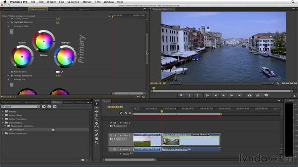Isolating and adjusting skies: The Art of Color Correction: Color Grading for Locations and Times of Day