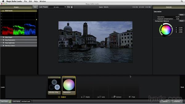 Creating an evening look: The Art of Color Correction: Color Grading for Locations and Times of Day