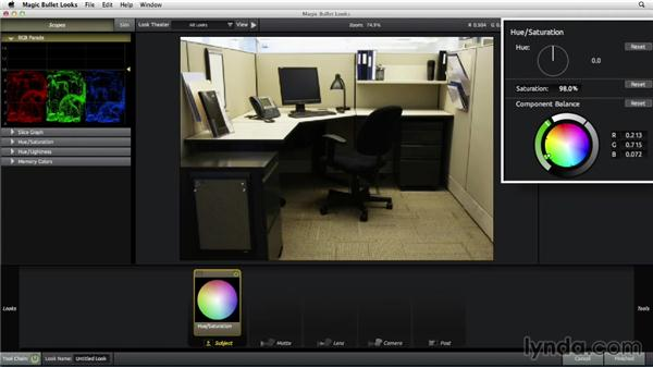 Stylizing an office scene: The Art of Color Correction: Color Grading for Locations and Times of Day