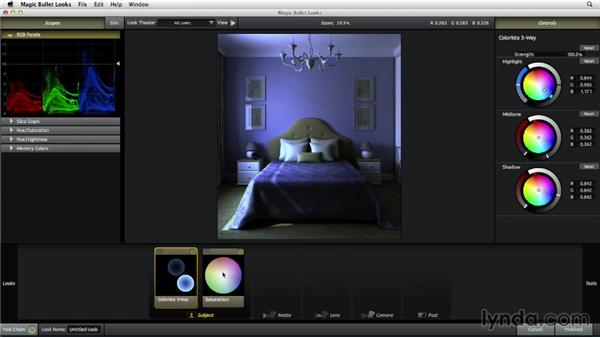 Creating a bedroom color style: The Art of Color Correction: Color Grading for Locations and Times of Day