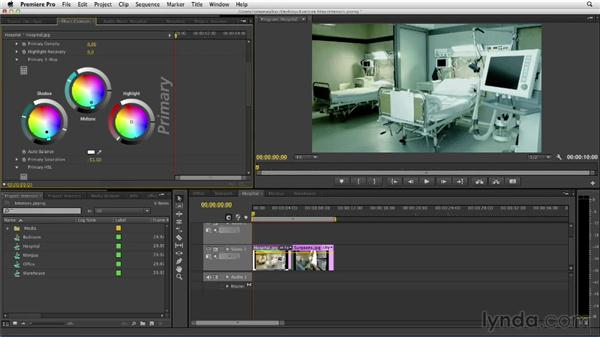 Designing a hospital look: The Art of Color Correction: Color Grading for Locations and Times of Day