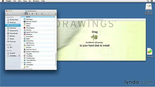 Installing eDrawings on a Mac: Up and Running with eDrawings