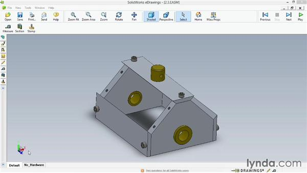 Working with configurations: Up and Running with eDrawings