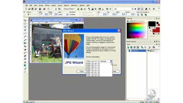 optimizing JPEGs: Learning Jasc Paint Shop Power Suite Photo Edition