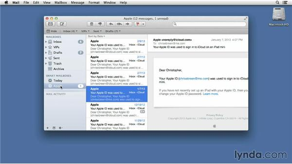 Creating smarter Smart Mailboxes: Mac OS X 10.8 Mountain Lion Tips and Tricks