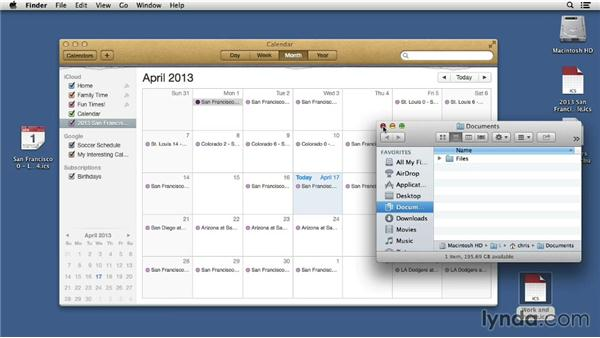 Exporting your calendars: Mac OS X 10.8 Mountain Lion Tips and Tricks