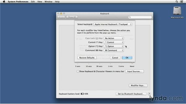 Caps lock begone!: Mac OS X 10.8 Mountain Lion Tips and Tricks