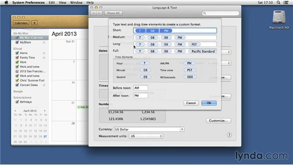 Creating the 24-hour clock: Mac OS X 10.8 Mountain Lion Tips and Tricks