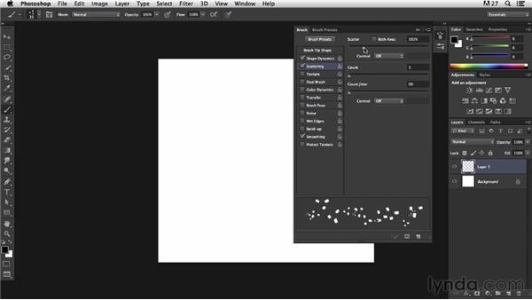 Creating a custom brush: Pixel Playground