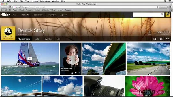 Replacing a photo that you've uploaded: Flickr Essential Training