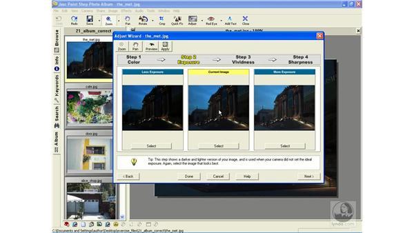 Adjust Wizard: Learning Jasc Paint Shop Power Suite Photo Edition