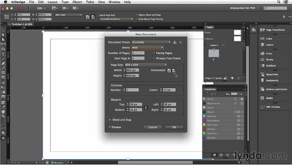 Understanding document intent: InDesign CC: Interactive Document Fundamentals (2014)
