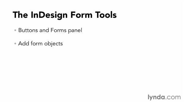 PDF forms: InDesign CC: Interactive Document Fundamentals (2014)