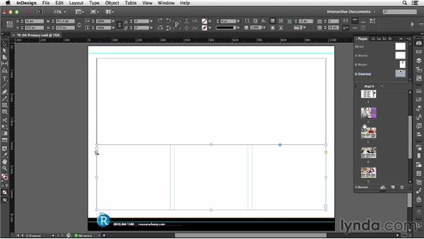 Using primary text frames: InDesign CC: Interactive Document Fundamentals (2014)